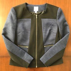 Halogen Zip-up Blazer
